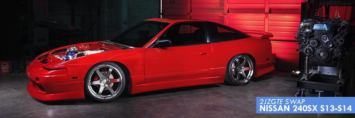 S13/S14 2JZ-GTE Swap