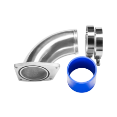 """3"""" Intake Charge Pipe Kit For 03-07 Ford 6.0L Powerstroke Diesel F250 F350"""