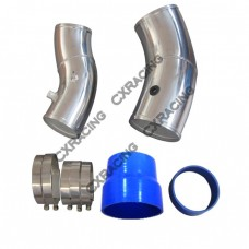 "5"" Turbo Air Intake Pipe Kit For 99-03 Ford Super Duty 7.3L PowerStroke Diesel Large GTP38"