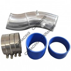 "4"" Turbo Air Intake Pipe Kit For 99-03 Ford Super Duty 7.3L PowerStroke Diesel Upgrade GTP38"