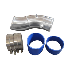 """4"""" Turbo Air Intake Pipe Kit For 99-03 Ford Super Duty 7.3L PowerStroke Diesel Upgrade GTP38"""