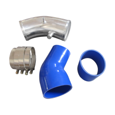 """4"""" Turbo Air Intake Pipe Kit For 99-03 Ford Super Duty 7.3L PowerStroke Diesel Factory GTP38"""