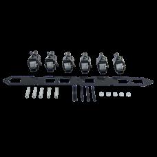 LQ9 Ignition Coil Packs Bracket Kit For Nissan RB25 RB25DET Motor Engine