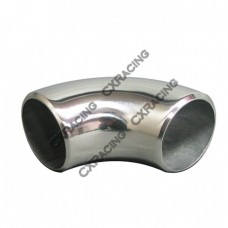 "1.65"" O.D. Extruded 304 Stainless Steel Elbow 90 Degree Pipe , 3mm (11 Gauge) Thick"