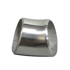 "1.75"" O.D. Extruded 304 Stainless Steel Elbow 45 Degree Pipe , 3mm (11 Gauge) Thick"