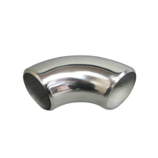 "1.75"" O.D. Extruded 304 Stainless Steel Elbow 90 Degree Pipe , 3mm (11 Gauge) Thick"