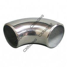 "1.9"" O.D. Extruded 304 Stainless Steel Elbow 90 Degree Pipe , 3mm (11 Gauge) Thick"