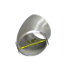 """2.25"""" O.D. Extruded 304 Stainless Steel Elbow 45 Degree Pipe , 3mm (11 Gauge) Thick"""