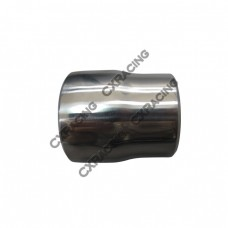 "304 Stainless Steel Manifold Header Reducer Pipe 3mm 2.5-2.25"" Polished"