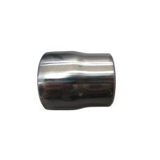 """304 Stainless Steel Manifold Header Reducer Pipe 3mm 2.25-2"""" Polished"""