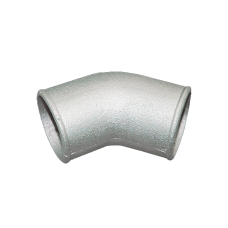 "3"" Cast Aluminum 45 Degree Elbow Pipe Turbo Downpipe"