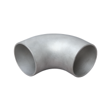 "3"" Cast 304 Stainless Steel 90 Degree Elbow Pipe For Header Manifold Downpipe"