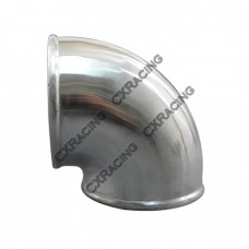 "5"" Cast Aluminum 90 Degree Elbow Pipe Turbo intercooler Polished"
