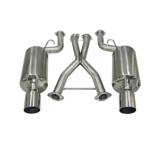Catback Exhaust System For 90-96 Nissan 300ZX Z32 2 Seater