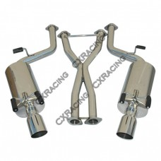 Catback Exhaust System For 90-95 Nissan 300ZX Z32 2+2 Seater
