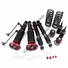 Damper CoilOver Suspension Kit for 06-13 BMW 3-Series E90 320i Pillow Ball Camber Plate
