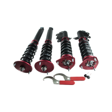 32 Damper Camber Plate Suspension CoilOvers For 95-98 NISSAN 240SX S14