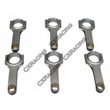 H-Beam Connecting Rods (6 PCS) for BMW M20 Engines