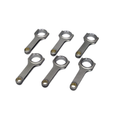 H-Beam Connecting Rods (6 PCS) for BMW M50 Engines