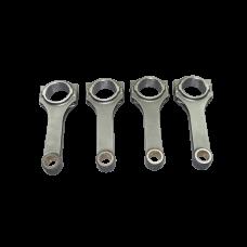 H-Beam Connecting Rod 4 Pcs For Honda F24 Engine 144.5 mm Rod Length