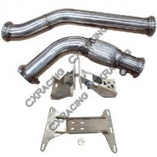 Engine Transmission Mount Downpipe For BMW E46 2JZ-GTE R154 Swap 2JZGTE