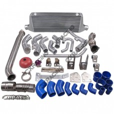 2JZGTE Engine R154 TransMount Turbo Downpipe Intercooler Kit For BRZ FRS Swap