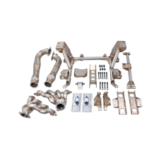 LS1 Engine T56 Trans Mounts Subframe Differential Bracket Headers For 89-97 Miata MX-5 LSx