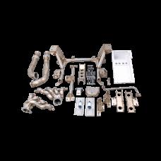 LS1 Engine T56 Trans Mounts Subframe Headers Oil Pan For 89-97 Miata MX-5 LSx