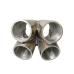 "11 Gauge Steel 4-1 Header Manifold Merge Collector T25 T28 42mm 1.65"""