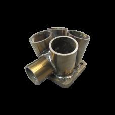 "11 Gauge Merge Collector T3 48mm 1.9"" Wastegate Tube S"