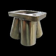 "4-1 11 Gauge Header Manifold Merge Collector 48mm1 7/8"" T3Flange SS 304"