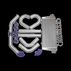 "31x12x4 inch Universal Intercooler + 3"" Turbo Piping Kit For Camaro F150 Mustang"
