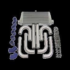 "31x12x4 inch Universal Intercooler + 3"" Piping Kit for Camaro F150 Mustang"