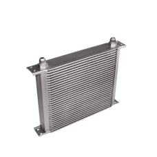 "Aluminum Oil Cooler 11"" Core 30 Row AN10 Fitting Hi Performance"