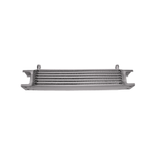 "Aluminum Oil Cooler 11"" Core, 7 Row , 3/8"" Inlet, Hi Performance"