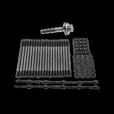 Head Stud Bolt Kit + Crank Crankshaft Bolt for GM Chevy LS/LM Engine LS1 LS3 5.3L 5.7L 04+