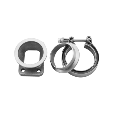 """T25/T28 Turbo to 2.5"""" V-Band Stainless SS Cast Flange Adapter Converter"""