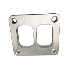 T4 Turbo Manifold Flange Adapter 304 Stainless Steel Divided Center