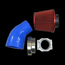 Intake Kit MAF Flange Pipe Air Filter For S13 S14 RB25DET RB20DET RB