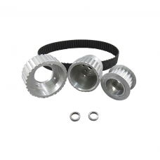 Gilmer Drive Pulleys For 12A/13B/20B, Fits 15mm Alternator Center Hole