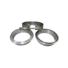 "3"" Turbo V-Band Clamp x1 , Downpipe Flange Aluminum x2"