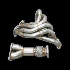 Performance Header For 93-02 Supra MK4 SC300 2JZGE 2JZ-GE Engine
