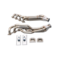 Long Tube Headers + Engine Mount for 94-04 Chevrolet S10 S-10 Truck LS Engine