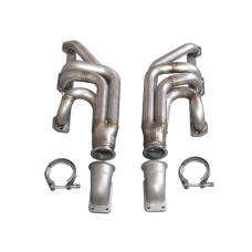 Turbo Manifold Header For Chevrolet Small Block SBC + Vband Elbow T3