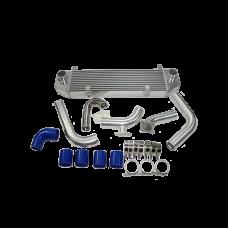 "Front Mount Intercooler Kit For 90-94 1G DSM Eclipse Talon Turbo 4G63, 3.5"" Core"