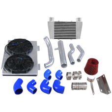 Intercooler Piping Intake Radiator Fan Shroud Kit For Land Rover Defender 2.5 Diesel 90 110