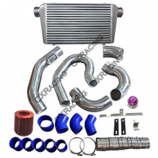 Intercooler + Piping BOV Kit For 98-05 Lexus GS300 2JZGE NA-T 2JZ