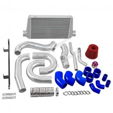Intercooler Intake Radiator Piping Kit For 08-16 Genesis Coupe 2JZGTE Swap
