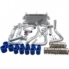 Twin Turbo Intercooler Kit + BOV For 3000GT Stealth TD04 Dual Core New Design