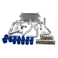 Twin Turbo Intercooler Piping Kit + BOV For 1990-2001 Mitsubishi 3000GT GTO / Dodge Stealth with Stock TD04 Dual Core